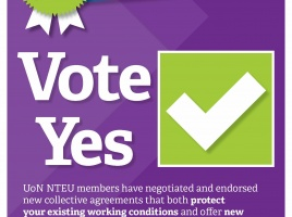 Banner - Voting now open: Vote Yes for our new UoN Enterprise Agreements