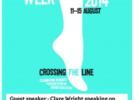 Banner - Bluestocking Week Event 13 August