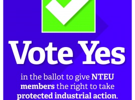 Banner - Update on NTEU Protected Action Ballot - 4th April -23rd April