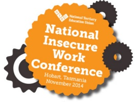 Banner - Insecure Work Conference: join us online