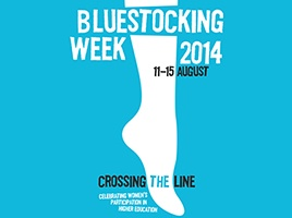Banner - Bluestocking Week 2014: Crossing the Line