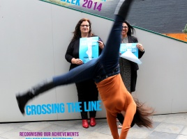 Banner - Cross the line and tell us your bluestocking story