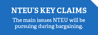 NTEU's key claims