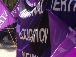 Banner - EB 2014: UoN management opening salvos continue to threaten staff working conditions