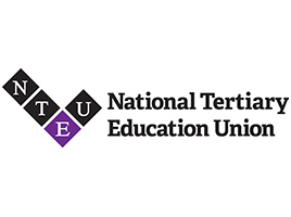 Banner - The NTEU Victorian Division Indigenous forum, Thursday 3 July.